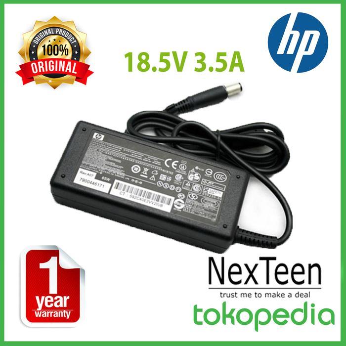 Terbaru! Original Adaptor Charger Laptop Hp Compaq Cq40 Cq41 Cq42 Cq43 Cq35 - ready stock