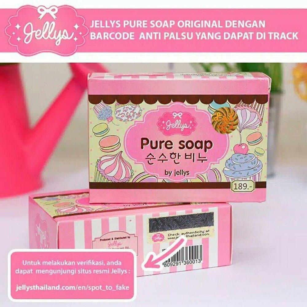 Sabun Jellys Pure Soap By Jellys Thailand