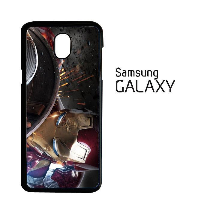 Ironman and Shield O1228 Samsung Galaxy Samsung Galaxy J7 Pro J7 2017 Casing Custom Hardcase Case Cover