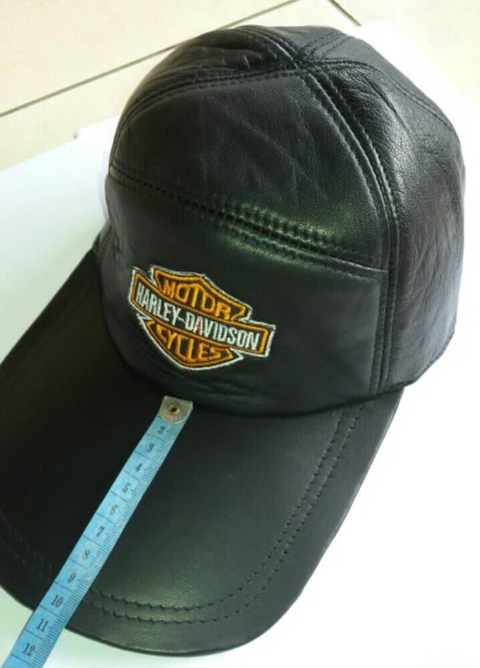 Topi Kulit Loga - 3axpAF