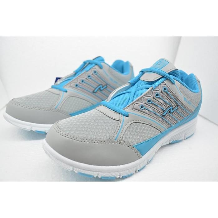Promo Sepatu New Era Princes Biru/Abuabu- Sepatu Sport Running Wanita Gratis Ongkir