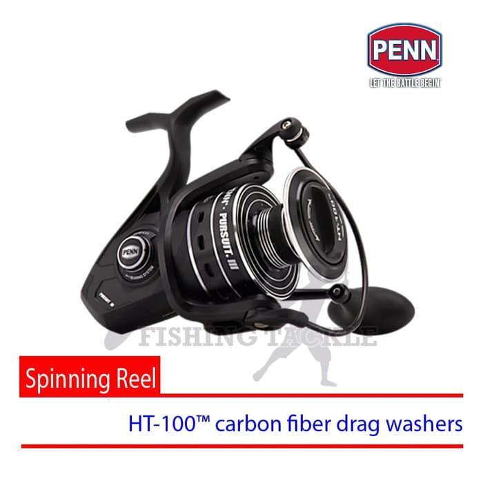 Obral Murah Penn Pursuit III 5000 Spinning Carbon Drag Reel Pancing Alat Mancing Harga Grosir