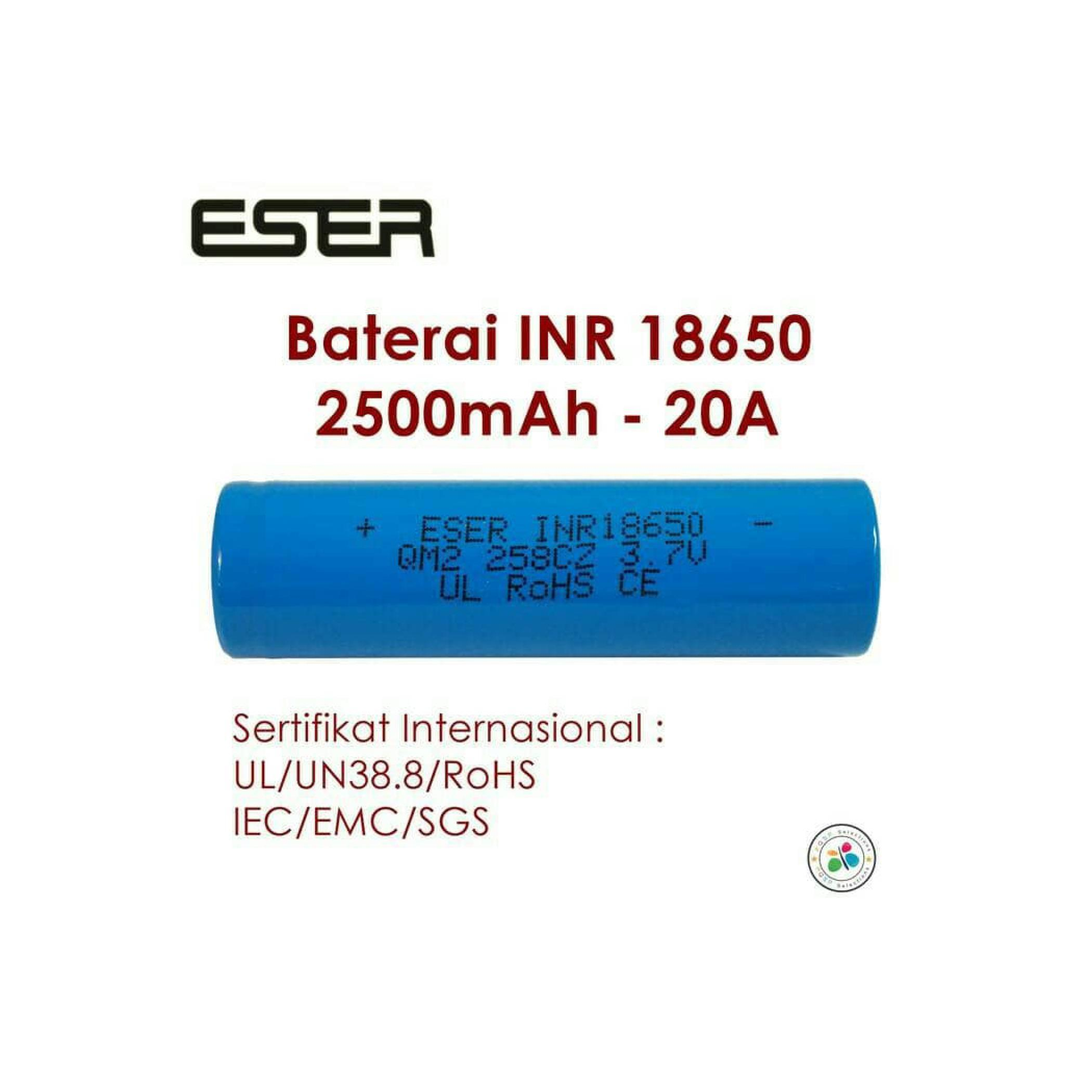 Buy Sell Cheapest Eser 6 Dual Best Quality Product Deals Turbo Charger Battery 18650 Inr Imr Icr Fast Quick Baterai Sale Chg6 Original Idr 83000 Idr83000 View Detail Rokok Elektrik Vape