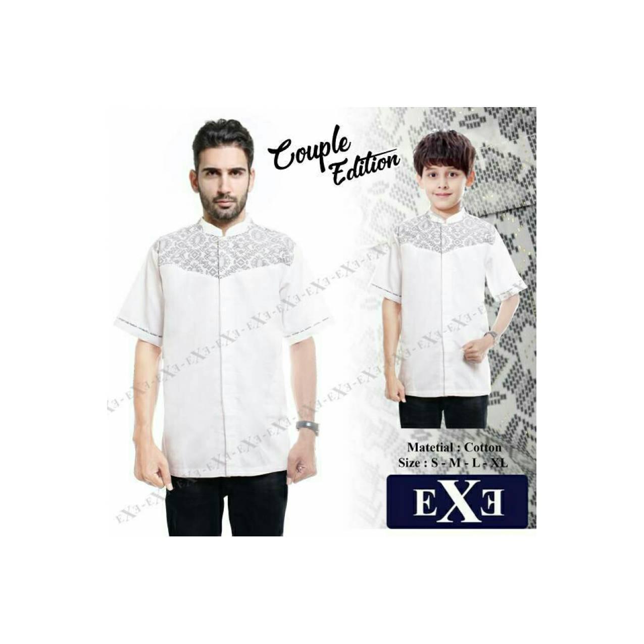 baju koko couple exe ayah dan anak