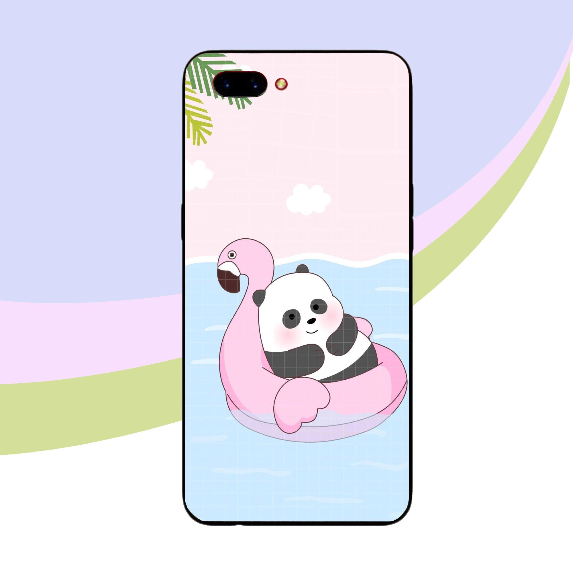 Case Oppo A3S - New Panda Animation