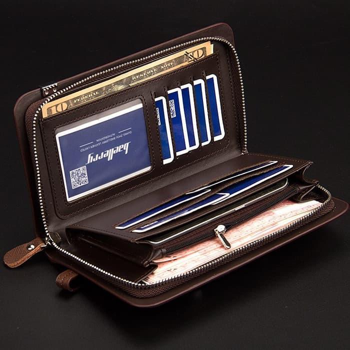 Dompet Handbag Pria wanita Paspor kulit IMport HP android baellerry Terkini