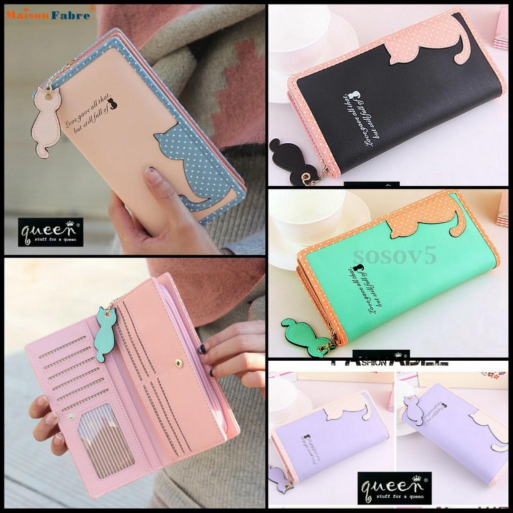 Buy Sell Cheapest Baellerry Wallet Dompet Best Quality Product Kulit Panjang 22 Slot Kartu 10 Import Termurah Cewek Wanita Atm