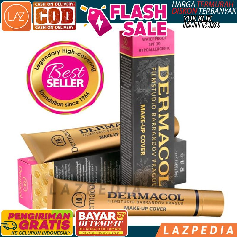 COD - [211] Dermacol Make up Cover Waterproof 30g 100% Original from Authorized / Cover Make Up / Alas Bedak / Cover Bedak / Foundation - Lazpedia / B428
