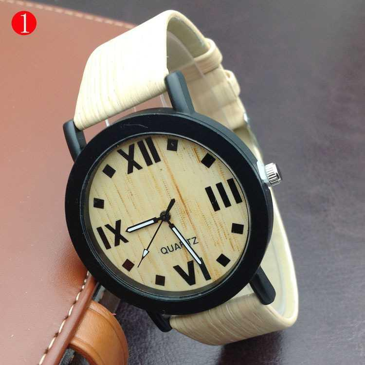 jam tangan fashion unisex fashion kayu imitasi men women watch jwa027 | Girls Watch