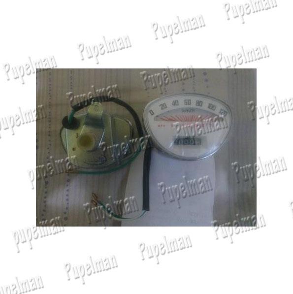 Aksesoris Vespa Motor Speedometer Vespa Sprint Super Odometer Speedo Meter Pengukur Kecepatan Motor Vespa Asesoris Vespa Acesoris Motor Vespa