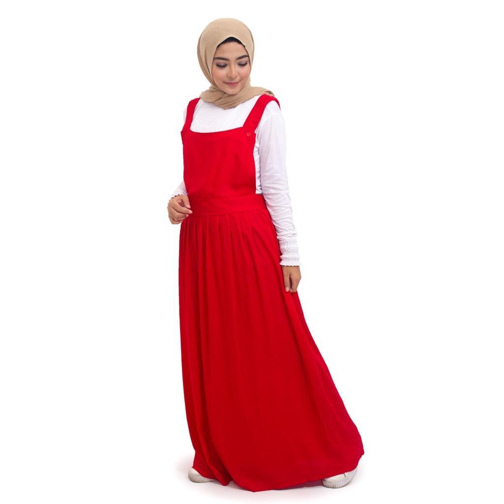 Baby Talk Club Annie Maxxi Overall Wanita Only Overall Tanpa Inner - Baju Atasan Wanita Overall Wanita Muslim Bahan Berkualitas Baju Muslim Wanita Dress Lebaran Pesta Kondangan Gamis Super Murah Untuk Remaja Overall Muslim Kekinian Hits