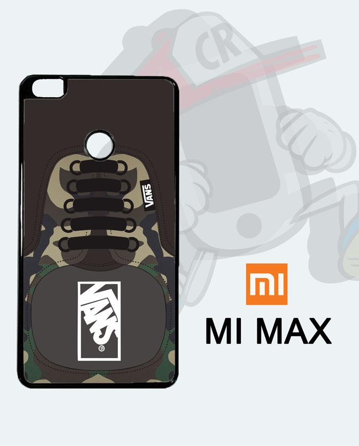 Casing Custom Case Cover Hard Case XIAOMI MI MAX Vans Shoes Army Case