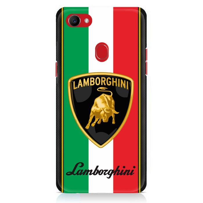 Casing Hardcase Oppo F7 Motif Lamborghini Logo X3093