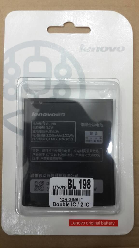 Baterai original Lenovo BL198 tipe a859 a859 k860 s880 s890