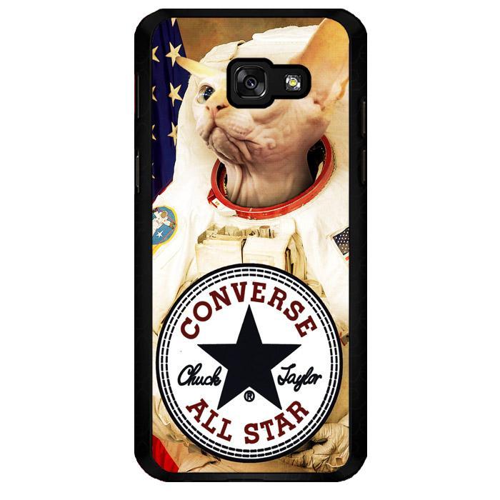 Astronaut Cat Converse W3097 Samsung Galaxy A7 2017 Custom Hard Case