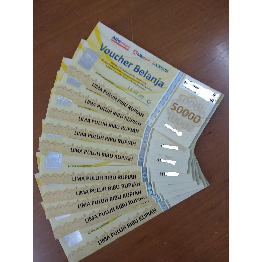 Voucher Alfamart 100000 (2X50000) R4426
