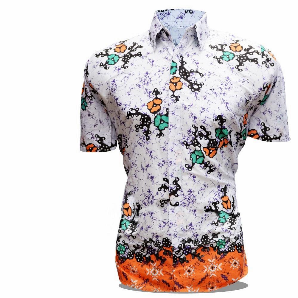 Fashion Pria / Pakaian / Kemeja Batik Pria / Hem Batik Pria / Batik / Hem / Kemeja Batik Pria Lengan Pendek / Hem Batik Cowok / Hem Batik / Kemeja / Baju Batik / KemejaPria / Baju Cowo / Batik Murah / Motif Bunga