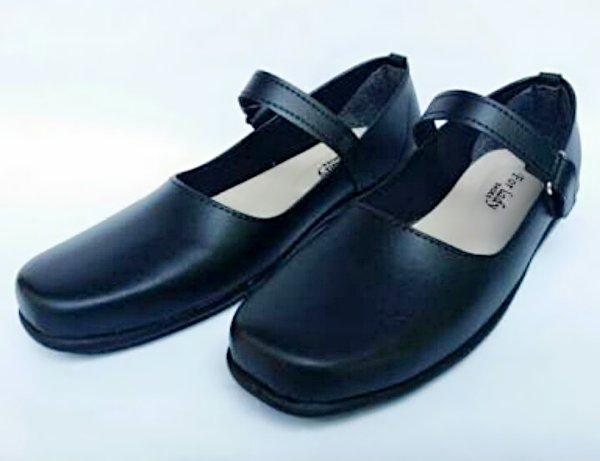 Sepatu Pantofel Wanita   Sepatu Paskibra   Sepatu Sekolah   Sepatu Formal  Wanita 002 - HITAM 07917388e1