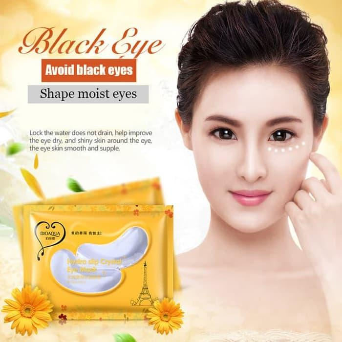 BIOAQUA Hydra Slip Crystal Eye Mask 10 pcs