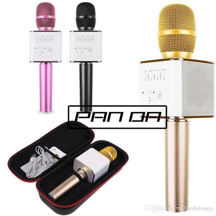 Mic Karaoke Smule Q9 Wireless Bluetooth Microphone (MIC KARAOKE BLUETOOTH MURAH BERKUALITAS) MIC KARAOKE BLUTUT MURAH BERKUALITAS / MIC KARAOKE PORTABLE KEKINIAN