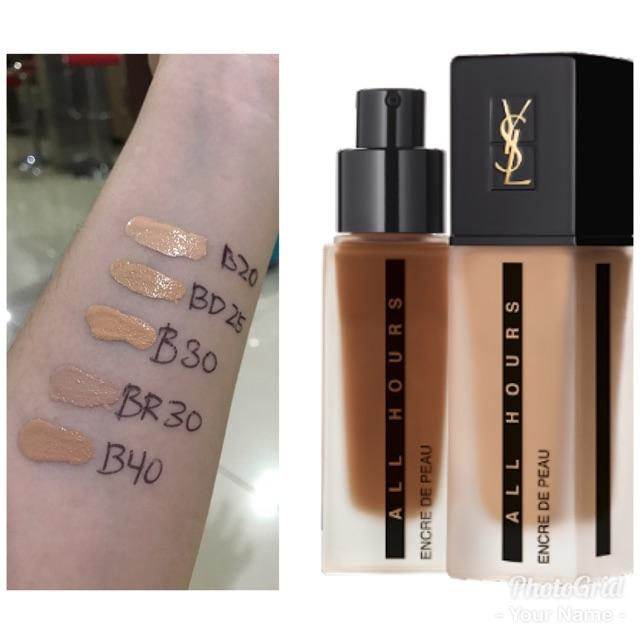 YSL all hours full coverage matte foundation B10 Porcelain