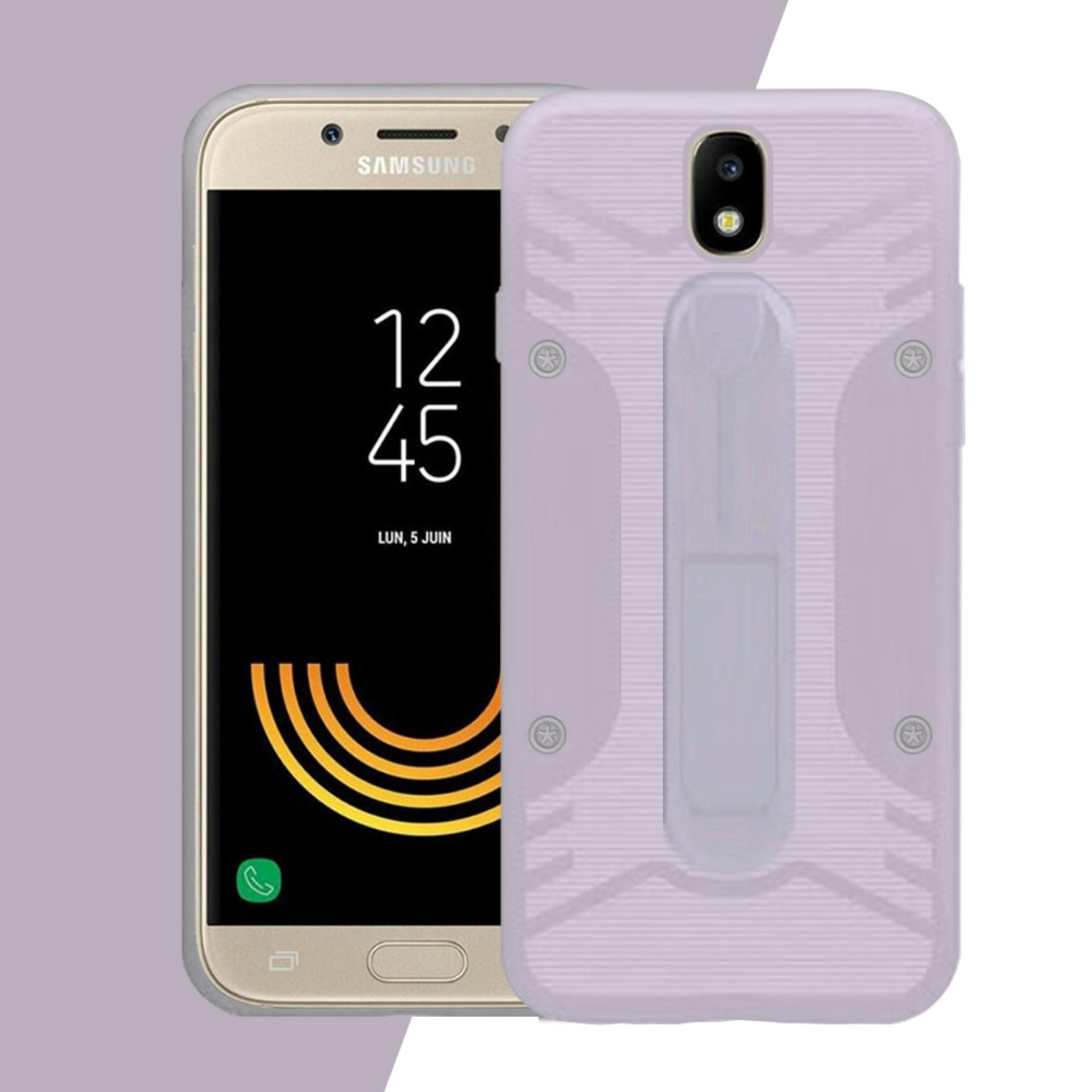 Case Samsung J5 Pro Conure 3in1 Smart Grip COCOSE IPAKY Drop resistance anti Shock Silicone Cover