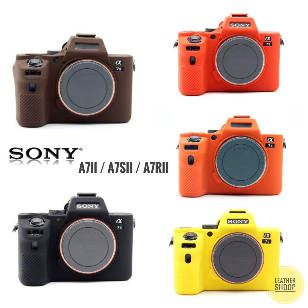 Soft rubber silicone case Sony Alpha A7ii A7Sii A7Rii