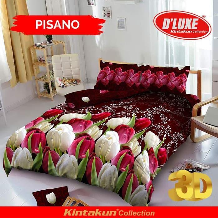 PALING DICARI Bedcover D'luxe Kintakun ukuran 160 x 200 - Pisano TERLARIS