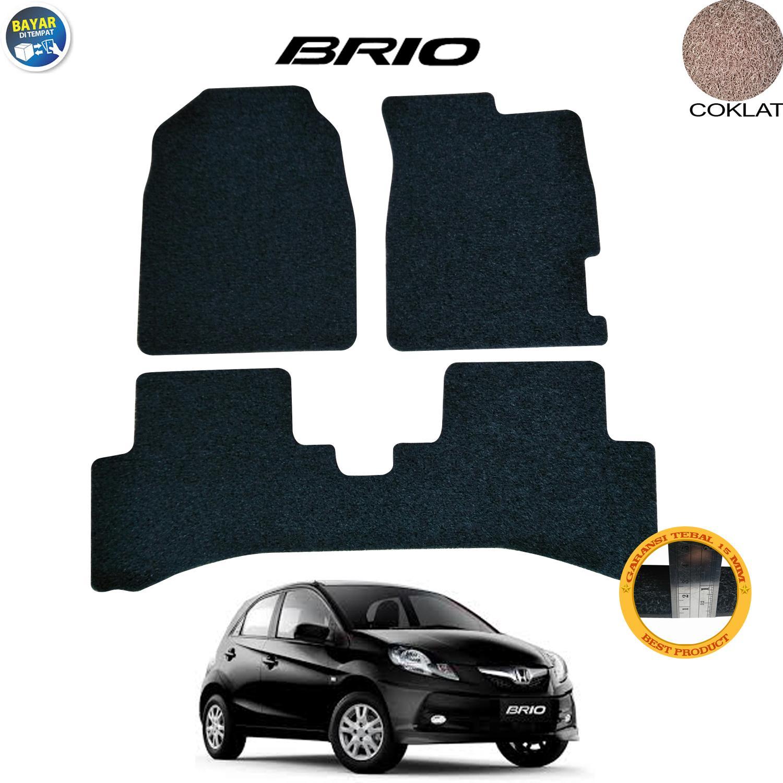 Karmob / Karpet Mobil Honda Brio / Karpet Mobil Bihun Honda Brio / Karpet Dasar Honda Brio / Karpet Karet Honda Brio / Aksesoris Mobil Honda Brio / Bukan ...