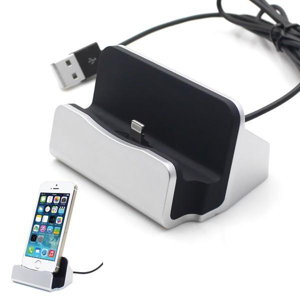 HOT DEALS!!  Apple Charger Lightning Charging Dock Docking for iPhone 5 6   plus TERMURAH / MURAH / PACKING RAPIH / PENGIRIMAN CEPAT