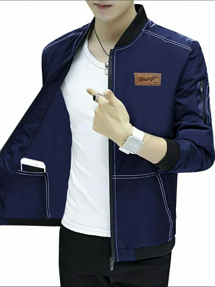 Hc - jaket pria jaket Wrangler - jaket pria - blazer pria - pakaian pria - atasan pria - fashion pria - baju pria