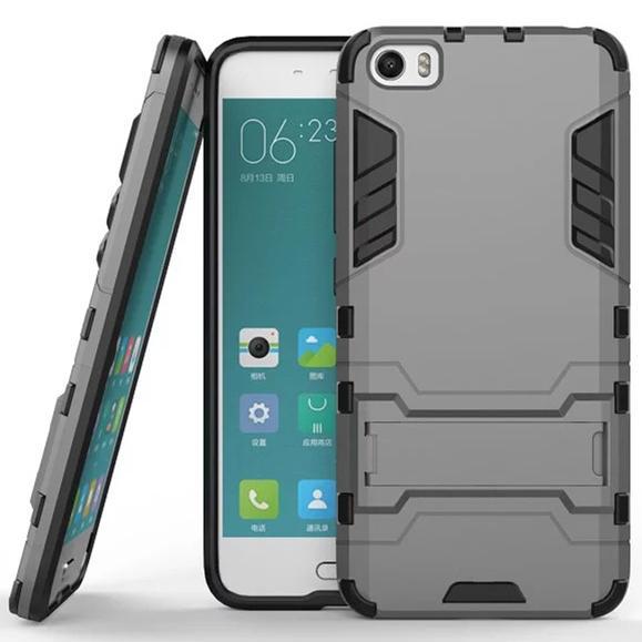 Rimas Ironman Armor Hardcase for Xiaomi Mi5 - Gray