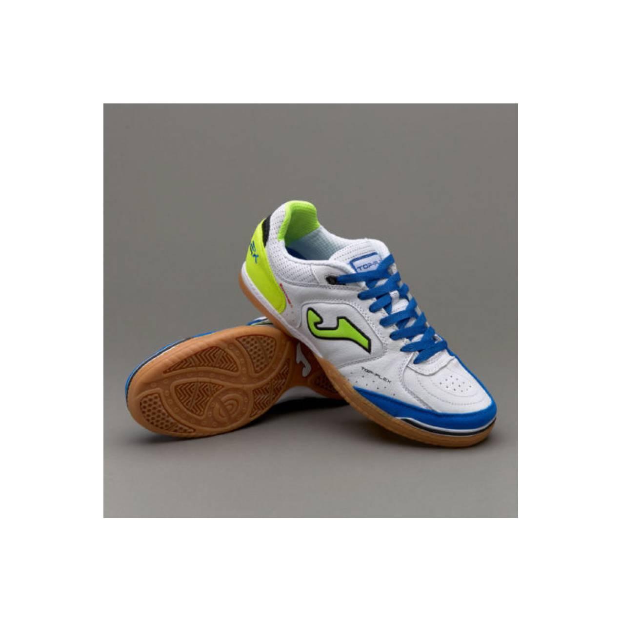 sepatu - SCARPE CALCETTO / FUTSAL INDOOR JOMA TOP FLEX 702 WHITE SUPER
