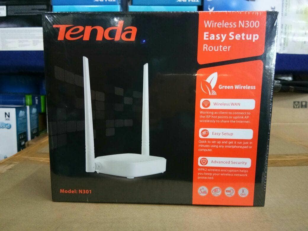Buy Sell Cheapest Tenda N301 Wireless Best Quality Product Deals Router 3 In 1 N300 Easy Setup 300mbps