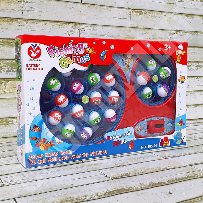 TERBARU!!!! Speed Fishing Games Double Pond 685-24 - Mainan Pancing Pancingan Ikan