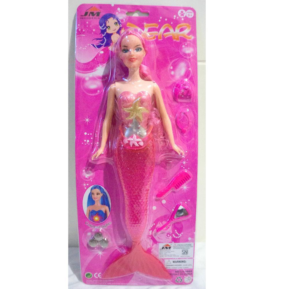 Mainan Barbie duyung - boneka murah - DEAR JM - LY1885
