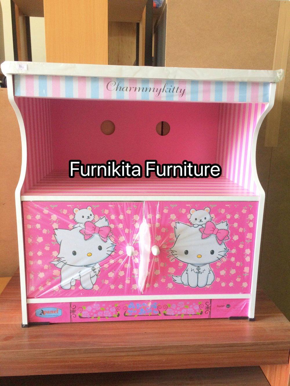 Rak Tv Karakter Hellokity By Furnikita Furniture.