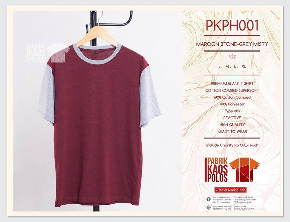 Kami jual murahkaos polos standar DISTRO bahan cotton combed 30s READY STOCK di lapak Pabrik Kaos Polos bandungblanktshirt