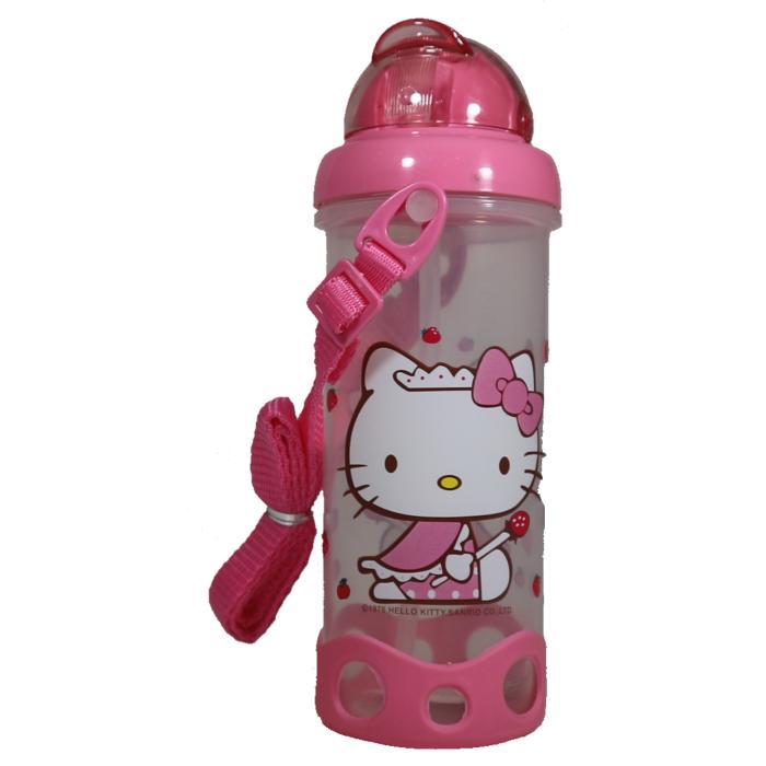Botol Minum Anak Sekolah 400 ml Karakter Hello Kitty