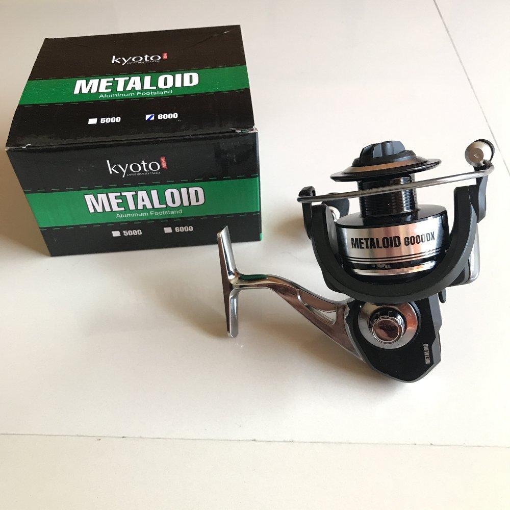 Reel Kyoto Metaloid 6000 TERBARU BOS PANCING zerya_fishing