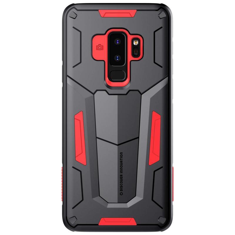 Nillkin Original Defender 2 Series Armor-border bumper case forSamsung Galaxy S9 Plus  - Merah