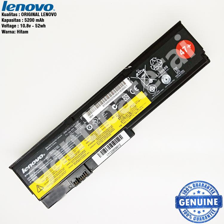 Original Baterai Lenovo Thinkpad X200 X200S X201 X201S X201i 42T4534
