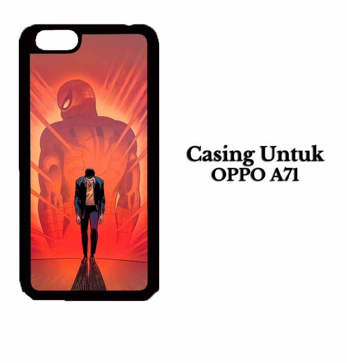 Casing OPPO A71 spiderman 88 Hardcase Custom Case Se7enstores