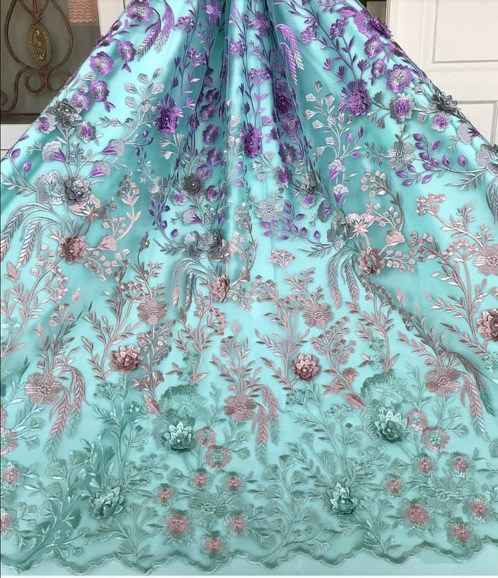Super Promo!  Tulle Elie Saab kain-bahan gaun, blouse, dress dan kebaya Terbatas!