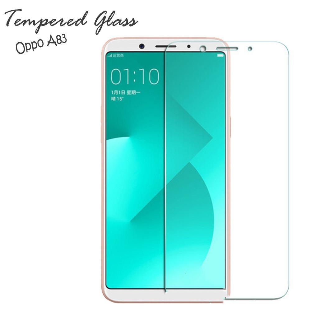 Tempered Glass Oppo A83 Screen Protector Pelindung Layar Kaca Anti Gores -Clear