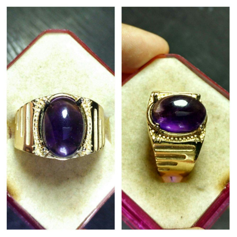 Best New Promo Kecubung Ungu Super Tua Kecubung Ungu Asli Natural Amethyst By Central Gemstone Shop.
