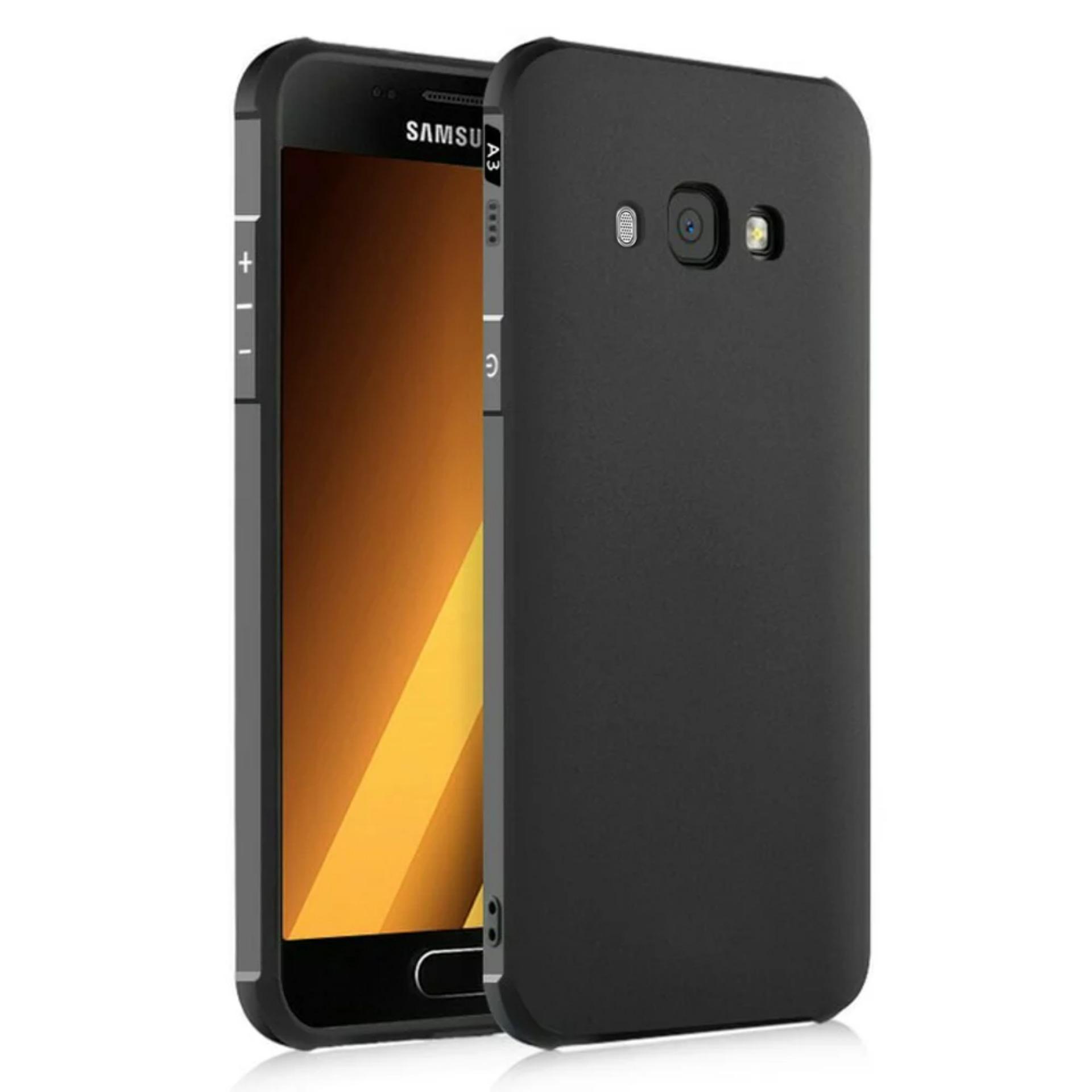 Case Samsung Galaxy J2 Prime COCOSE Drop resistance anti Shock Silicone Case Cover - Hitam