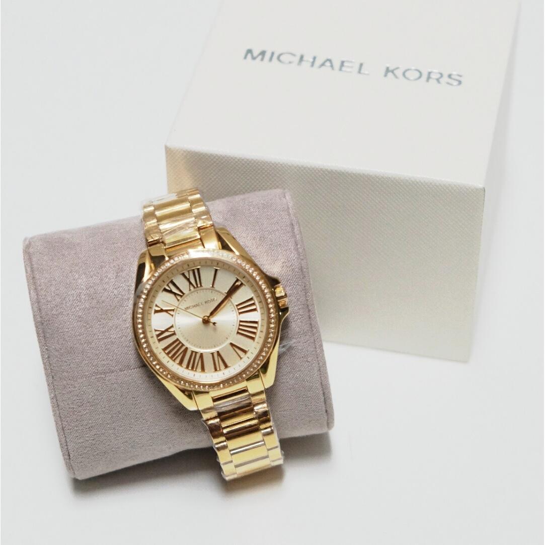 Jam Tangan Michael Kors Mk2542 Parke Watch Mk6184 Gold