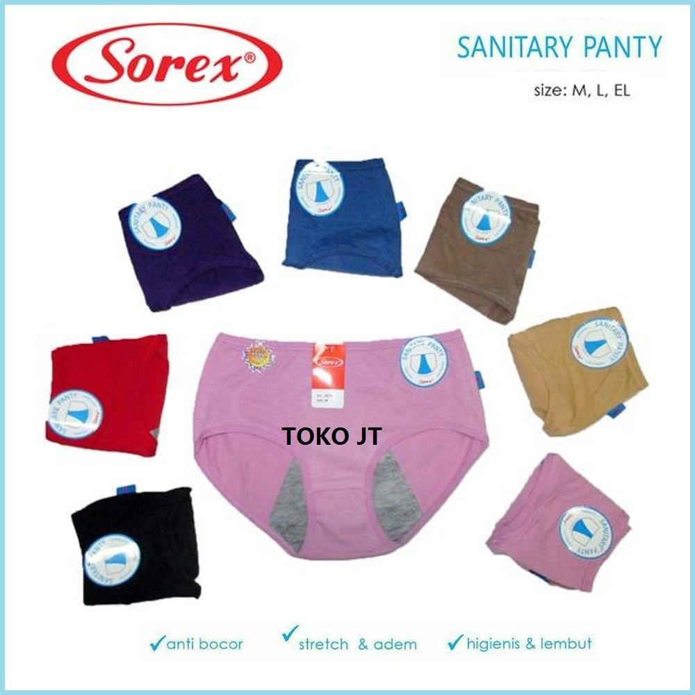 Inilah Harga Celana Dalam Wanita Sorex Murah Terbaru 2018 Lembut 6709 Cd Menstruasi Haid 3 Pcs