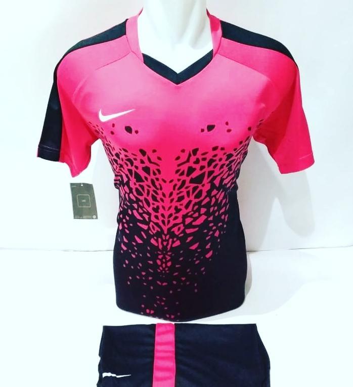 [ Printing ] Baju Olahraga Jersey Sepak Bola Kaos Setelan Futsal / Volly / Badminton Nike